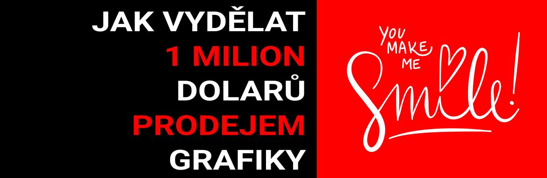 Jak vydělat 1 milion dolarů prodejem grafiky